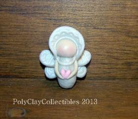 Preemie Angel - Polymer Clay - Keepsake - Collectible