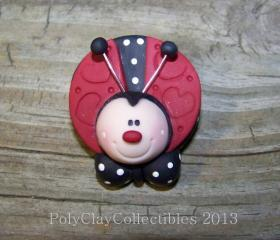 Ladybug - Pin - Magnet - You Choose